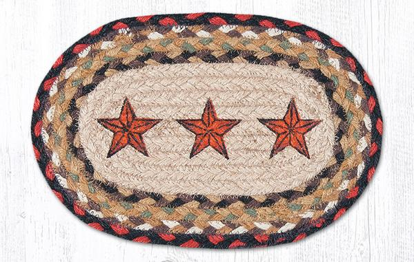 Barn Stars 01-019BS Mini Accent Mat 7.5x11