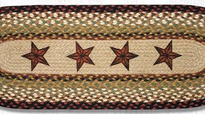 Barn Stars 68-019BS 13x36 Runner