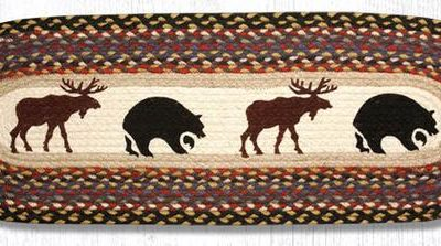 Bear Moose 68-043BM Oval Runner 13x36