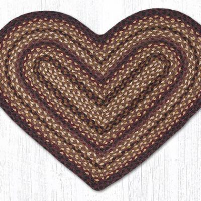 Black Cherry Chocolate Cream 10-371 Heart 20x30
