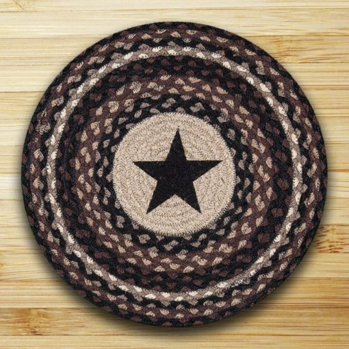 Black Star 57-313BS Round Placemat 15x15