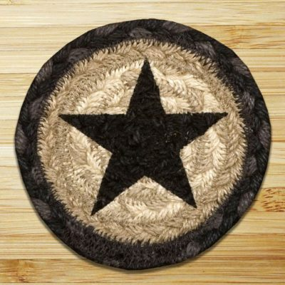 Black Stars 31-IC238BS Individual Coaster 5x5