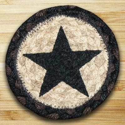 Black Stars 31-IC313BS Individual Coaster 5x5