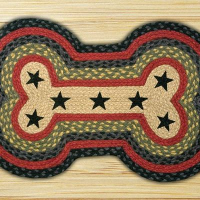Black Stars 63-P238DBS Dog Bone 18x28
