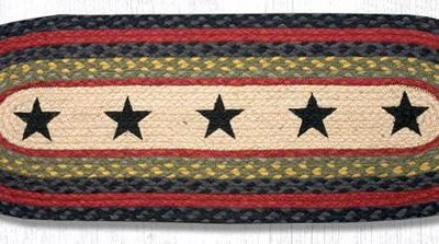 Black Stars 68-238BS 13x36 Runner
