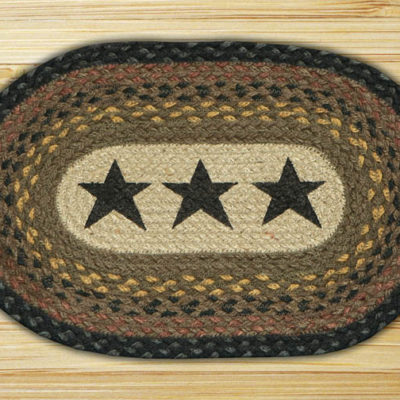 Black Stars 81-099BS Accent Mat 10x15