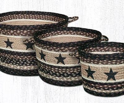 Black Stars UBP-313 Utility Baskets 3 Sizes