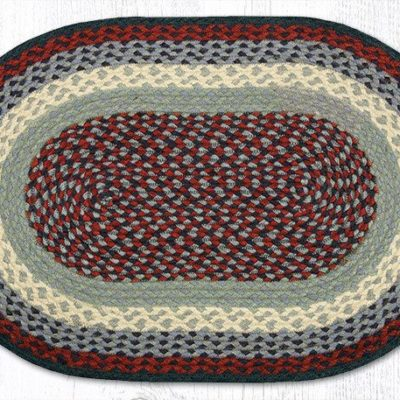 Blue Burgundy 02-015 Oval 20x30