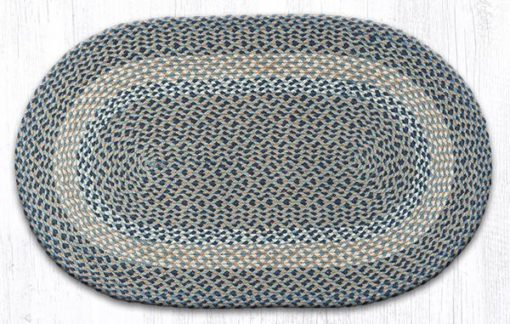 Blue Natural 03-005 Oval 27x45