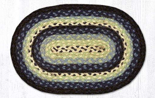 Blueberry Cream 00-312 Oval Accent Mat 10x15