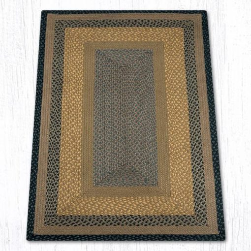 Brown Black Charcoal 24-099 Rectangle 3'x5'