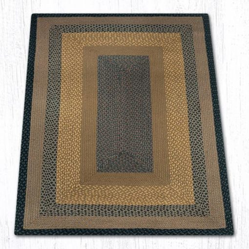 Brown Black Charcoal 26-099 Rectangle 4'x6'