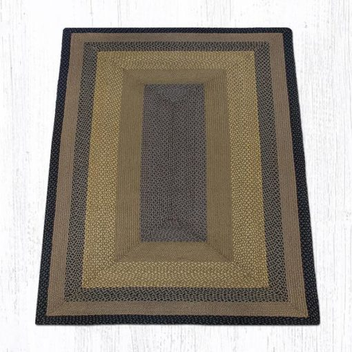 Brown Black Charcoal 27-099 Rectangle 5'x8'