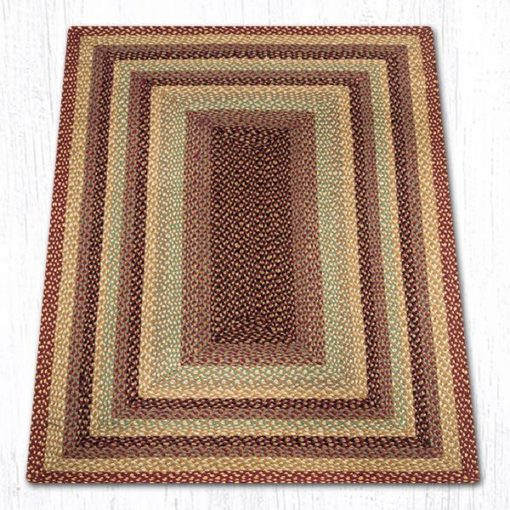 Burgundy Gray Cream 26-357 Rectangle 4'x6'