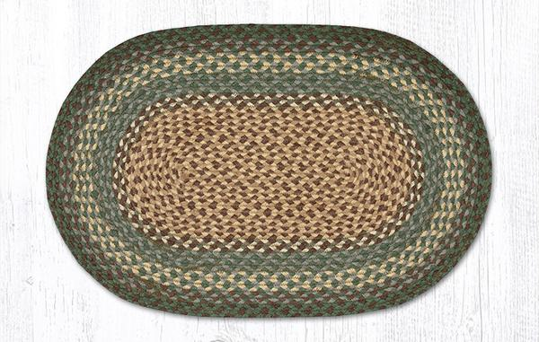 Dark Green 02-013 Oval 20x30