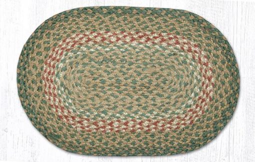Green Burgundy 00-009 10x15 Accent Mat