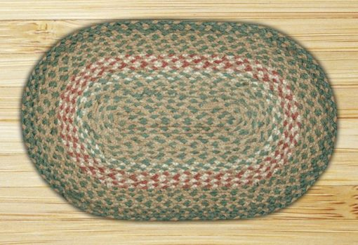 Green Burgundy 00-009 Accent Mat 10x15