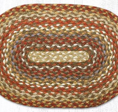 Honey Vanilla Ginger 00-300 Oval Accent Mat 10x15