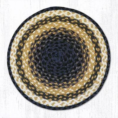 Light & Dark Blue Mustard 52-PM079 Placemat 13x19