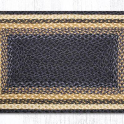 Light & Dark Blue Mustard 22-079 Rectangle 20x30