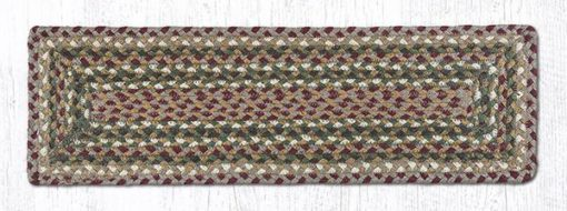 Olive Burgundy Gray 39-324 Rectangle Stair Tread 27x8.25