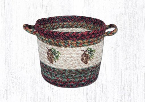 Pinecone 38-UBPSM981P Small Utility Basket 9x7