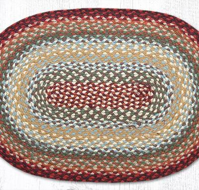 Thistle Green Country Red 02-417 Oval 20x30