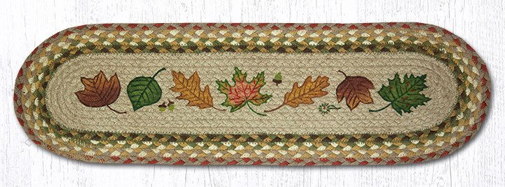 Autumn Leaves 49-ST024AL Oval Stair Tread 27x8.25