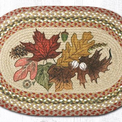 Autumn Leaves 65-024AL Oval 20x30