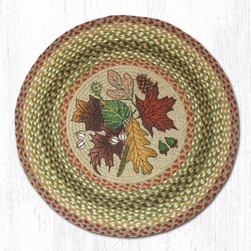 Autumn Leaves 66-024AL Round Area Rug 27x27
