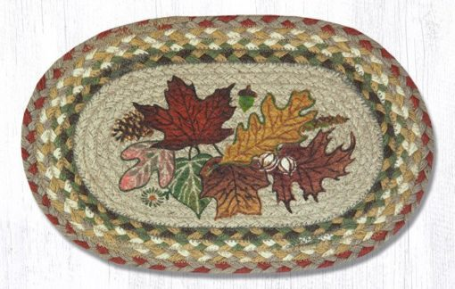 Autumn Leaves 81-024AL Accent Mat 10x15