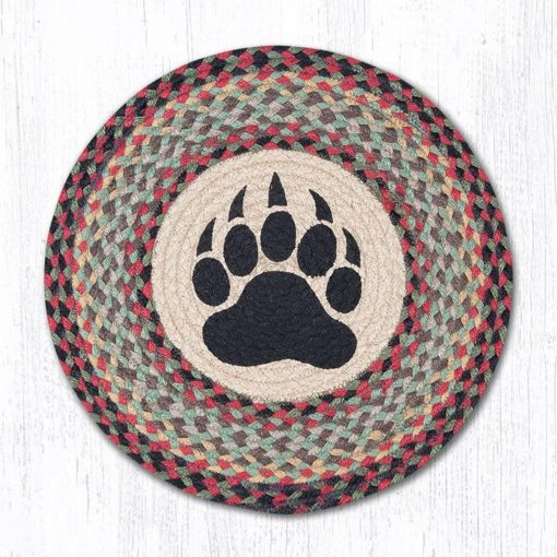 Bear Paw 57-081BP Round Placemat 15x15
