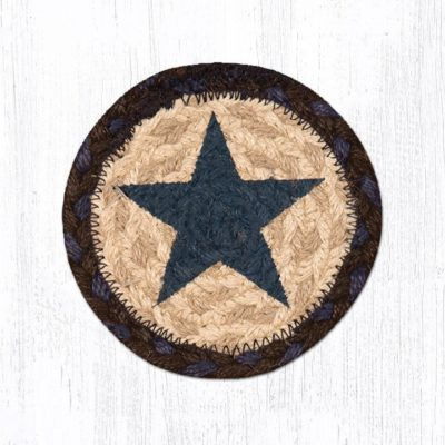 Blue Stars 31-IC312BS Round Individual Coaster 5x5