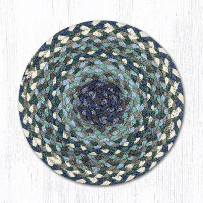 Blueberries & Cream 46-503 Round Trivet 10x10