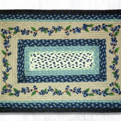 Blueberry Vine 67-312BV Rectangle 20x30
