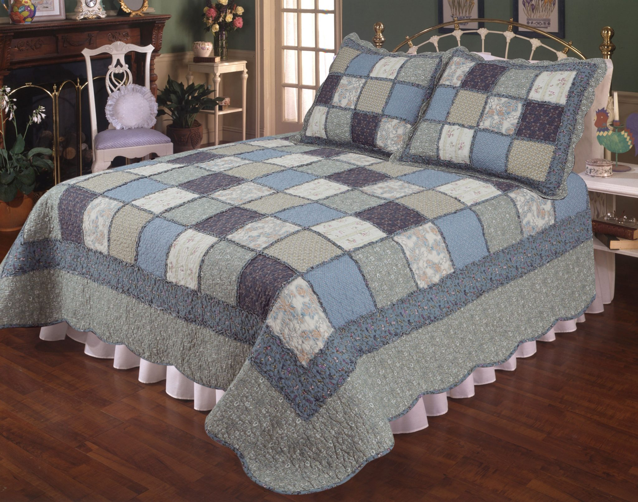 Chelsea 100 Cotton Quilt Morning Star Home Accents