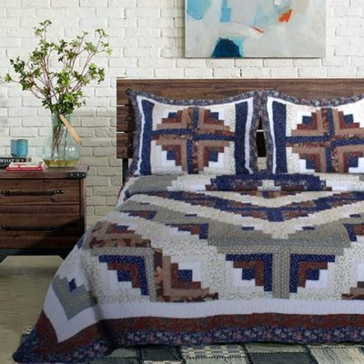 Colorado Log Cabin Quilt