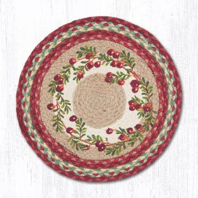 Cranberries 57-390C Round Placemat 15x15
