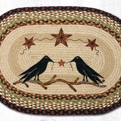 Crow & Barn Star 65-019CBS Oval 20x30
