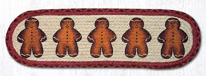 Gingerbread Men 49-ST111GBM Oval Stair Tread 27x8.25