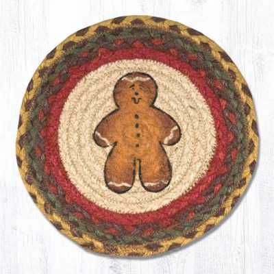 Gingerbread Men 80-111GBM Round Triver 10x10