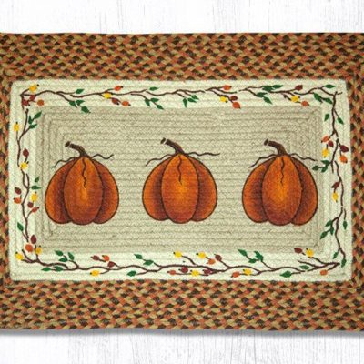 Harvest Pumpkin 67-222HP Rectangle 20x30