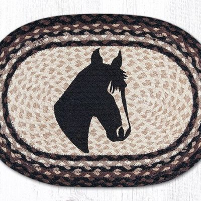 Horse Portrait 48-313HP Oval Placemat 13x19