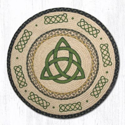 Irish Knot 66-116IK Round Area Rug 27x27