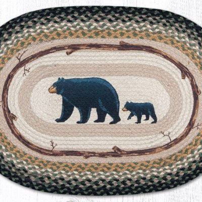 Mama & Baby Bear 65-116MB Oval 20x30