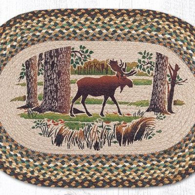 Moose Forest 65-051MF Oval 20x30