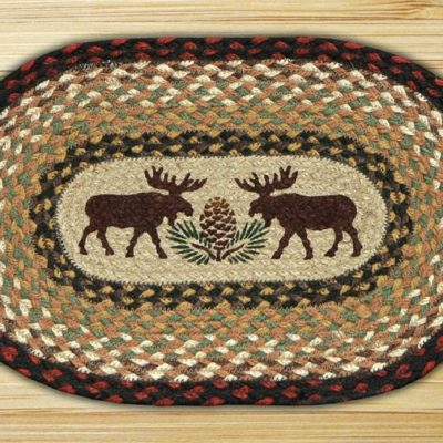 Moose Pinecone 81-019MP Accent Mat 10x15