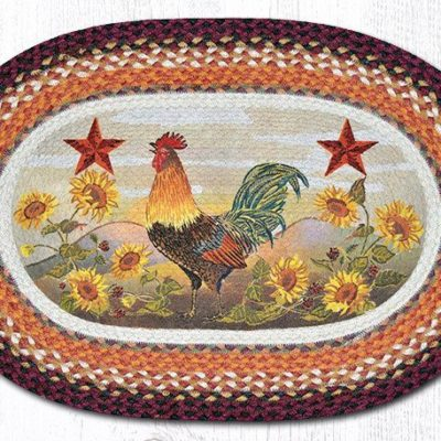 Morning Rooster 65-391MR Oval 20x30