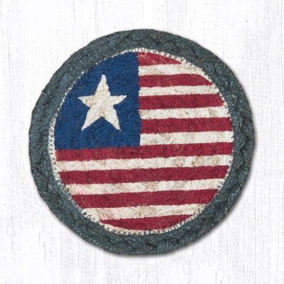 Original Flag 31-IC1032 Round Individual Coaster 5x5