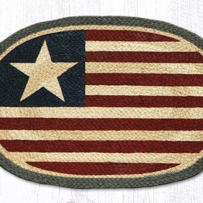 Original Flag 48-1032 Oval Placemat 13x19